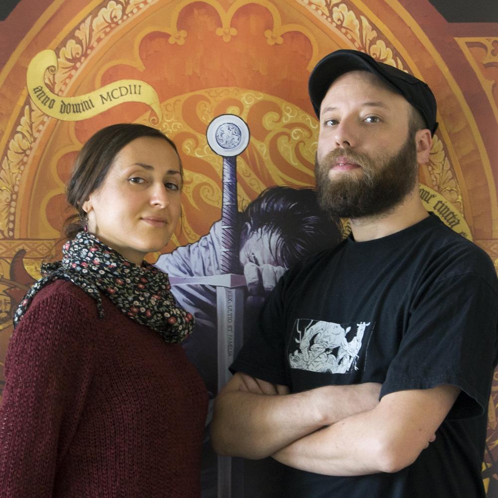 Joanna Nowak i Mikuláš Podprocký